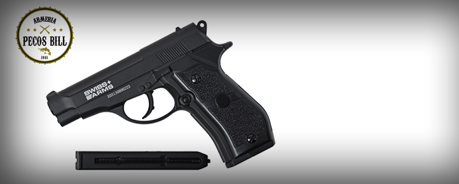 Pistola Co2 Swiss Arms P84