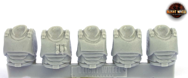 Torso kit 02 armored (HQ squad) (5)