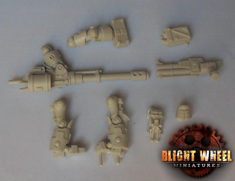 War Bot squadron