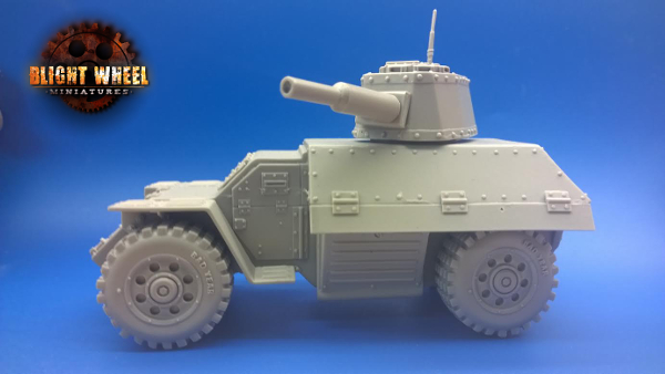 Staghound Mk4 two wheeled