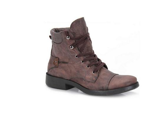 Paládio sapatos, botas de lã folgado