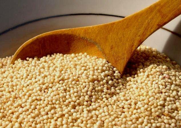 Pipocas de Quinoa con Stevia