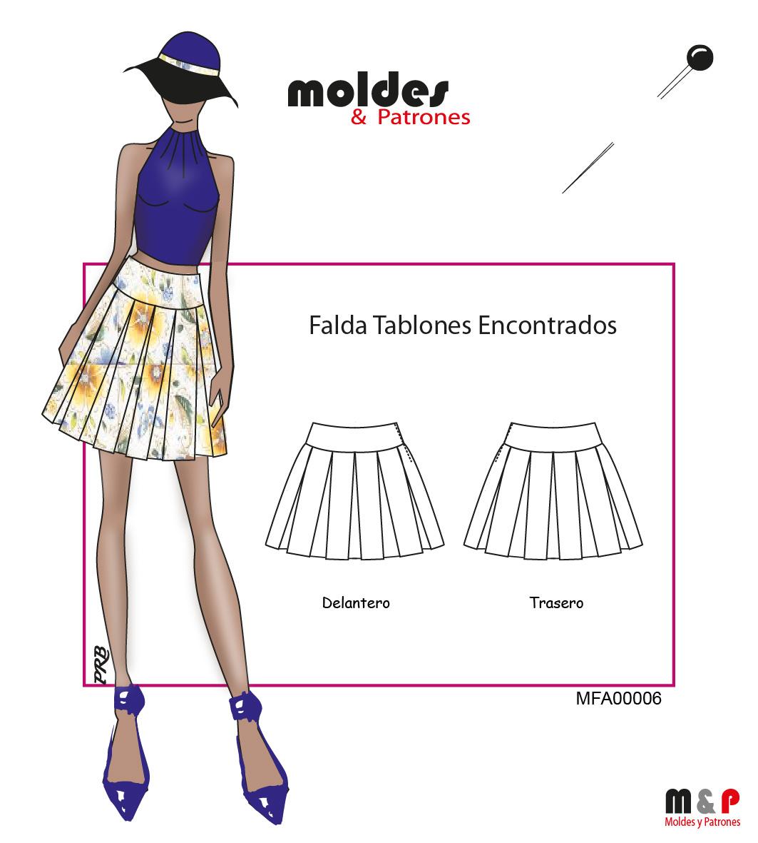 a7cb07822 Falda De Tablones | Wig Elegance