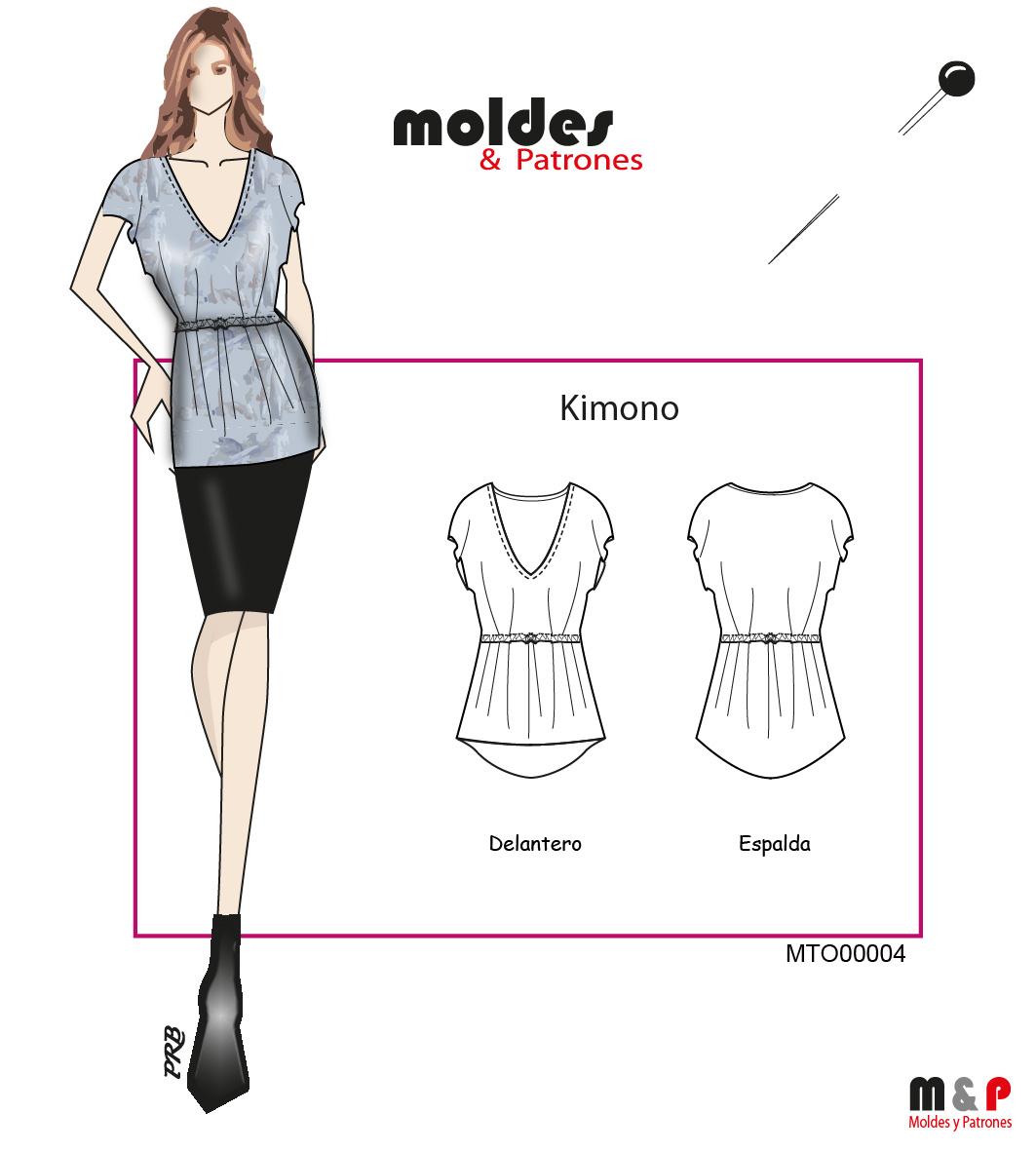 3 TALLAS S M L - Kimono