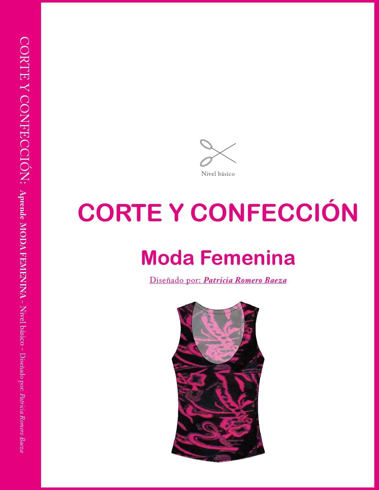 LIBRO: Corte y Confección Moda Femenina IMPRESO