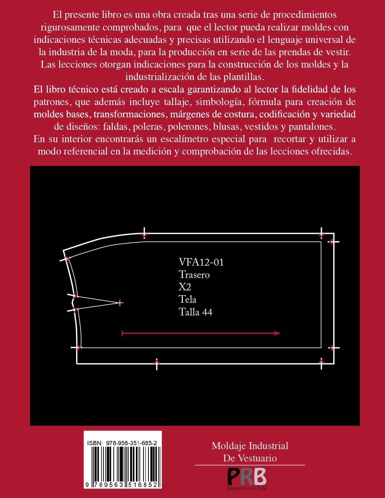 LIBRO: Moldaje Industrial de Vestuario