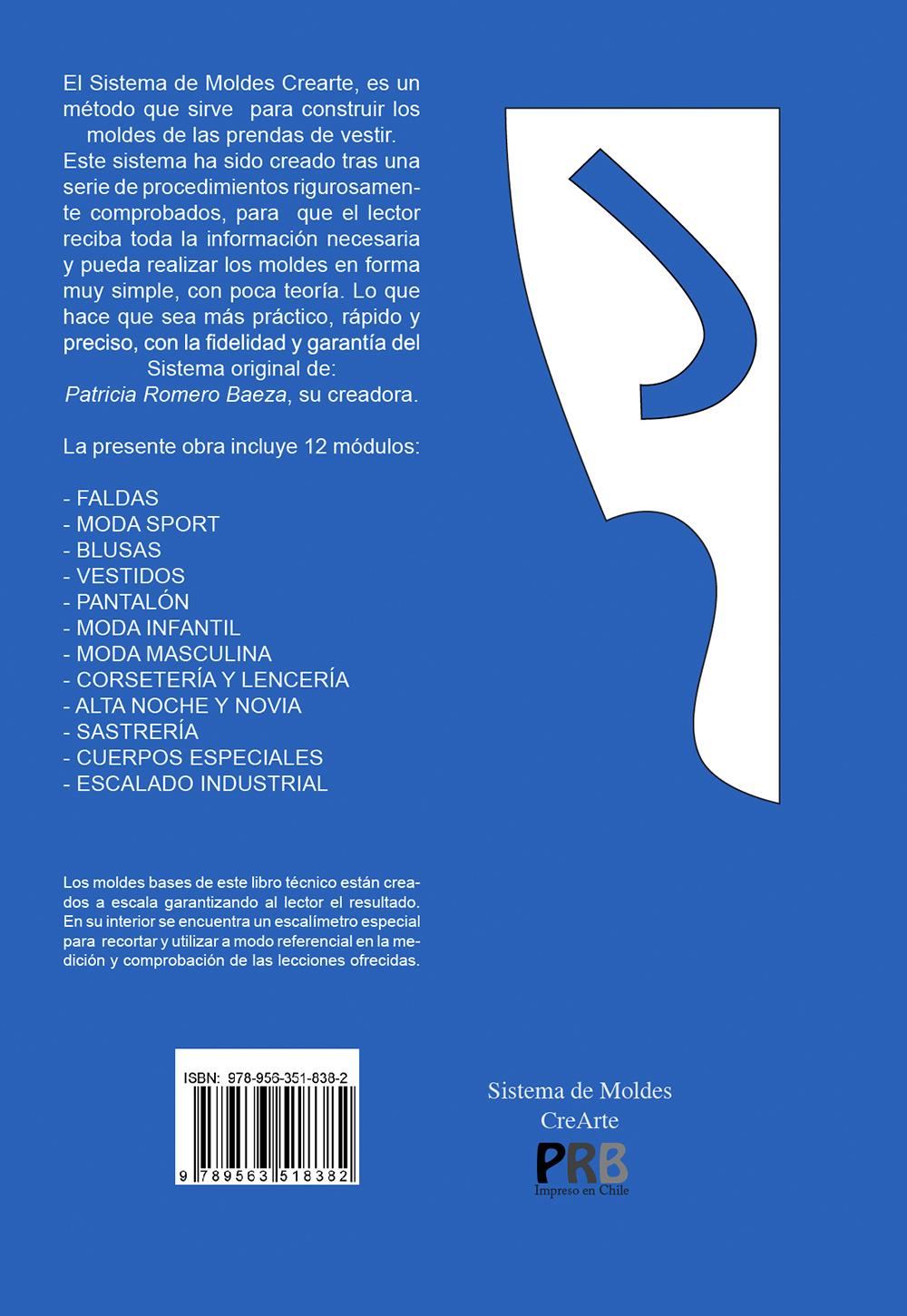LIBRO: Sistema de Moldes Crearte IMPRESO