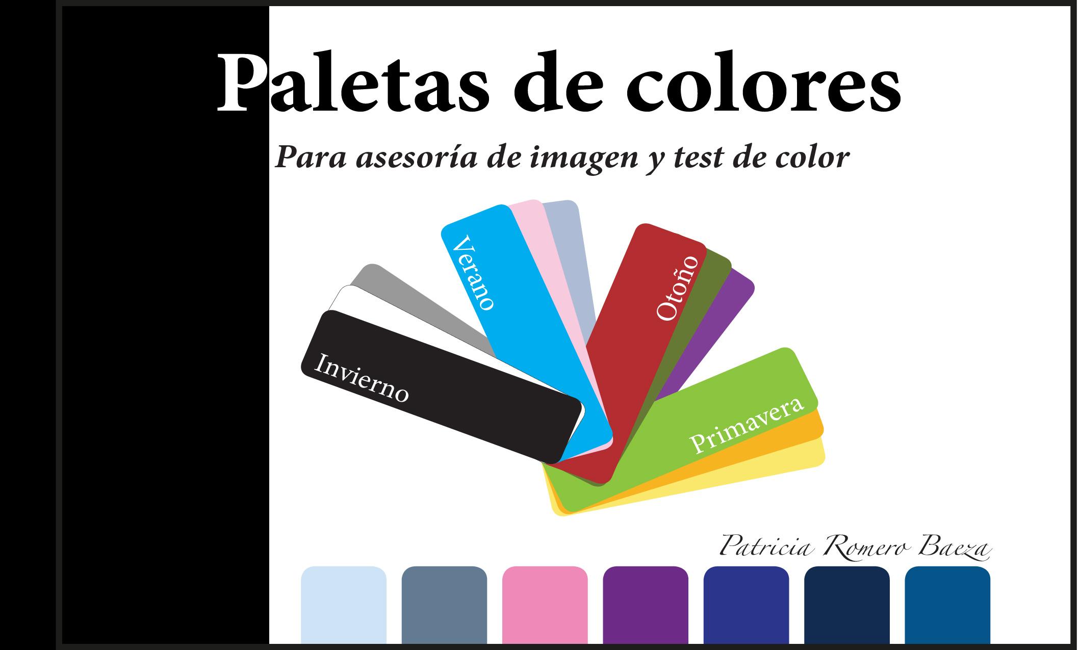 LIBRO COLORIMETRÍA: Paletas de Colores IMPRESO