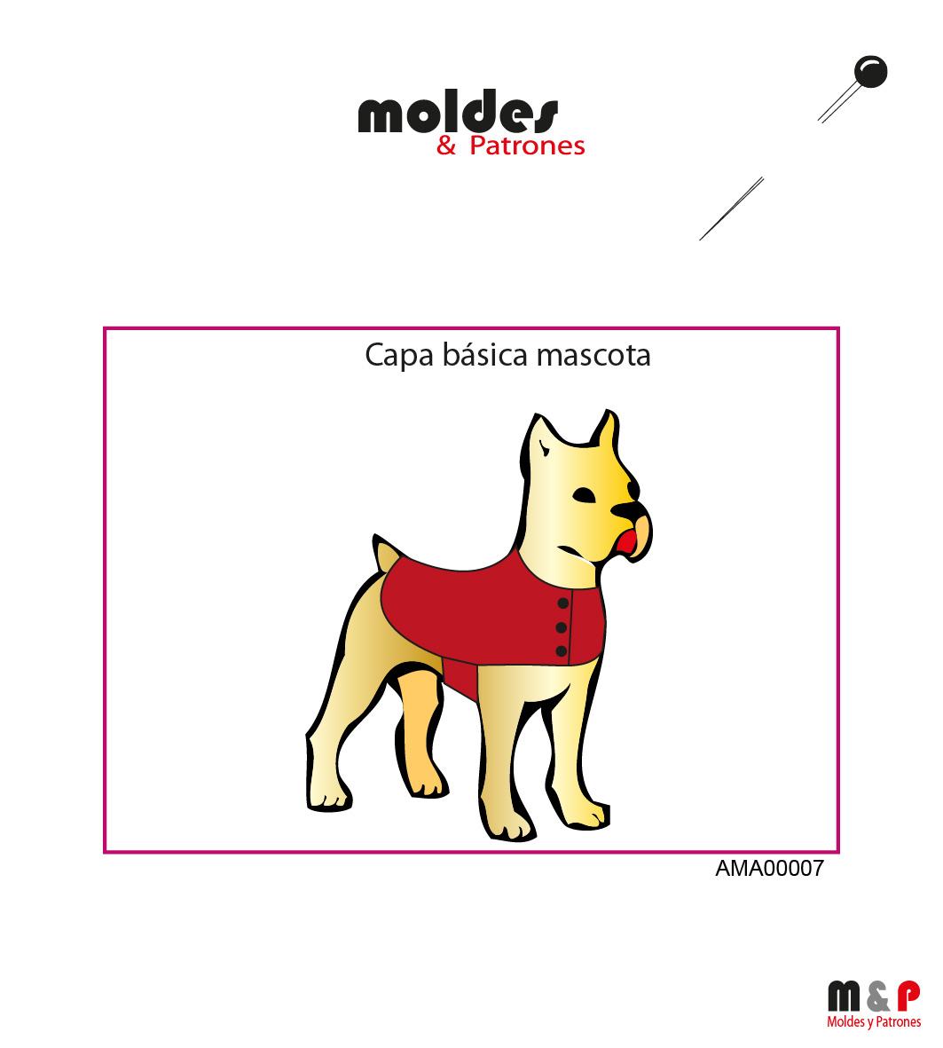 3 TALLAS S M L - Capa básica de Mascotas