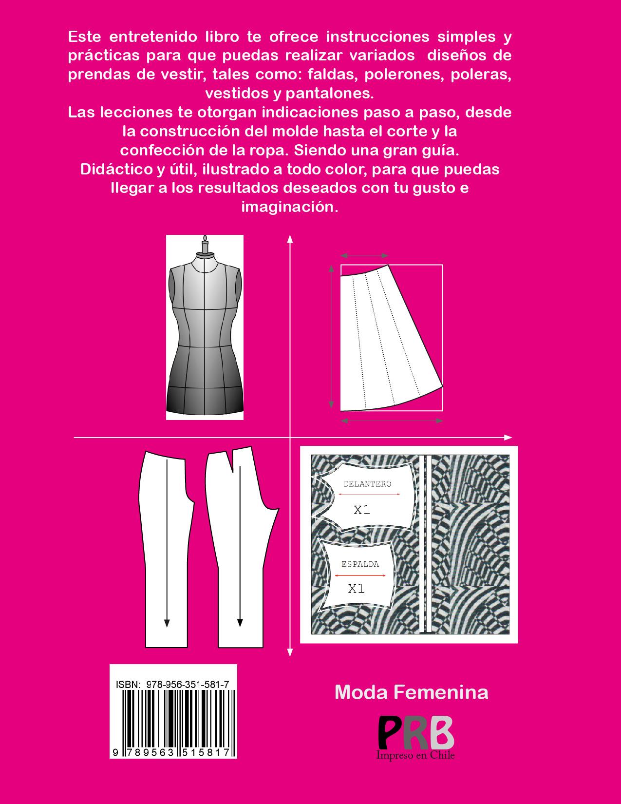 Libro corte y confecci n moda femenina pdf moldesypatrones Libros de ceramica pdf
