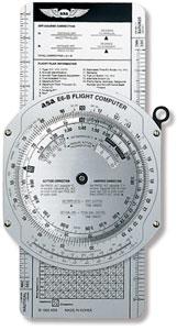 E6-B METAL FLIGHT COMPUTER BY ASA
