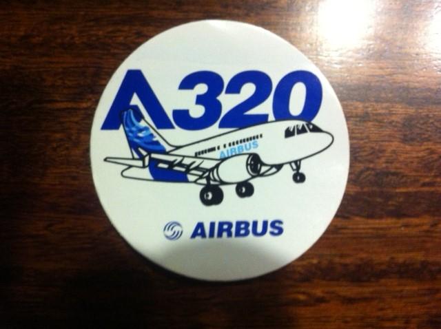 STICKER CIRCULAR A-320