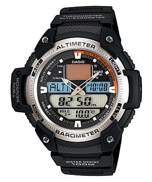 RELOJ CASIO SPORTS COMPASS-ALTITUDE- PRESSURE SGW400H-1BWT