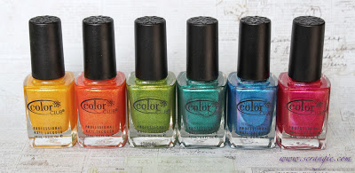 Esmaltes COlor Club Colección Take the Wing