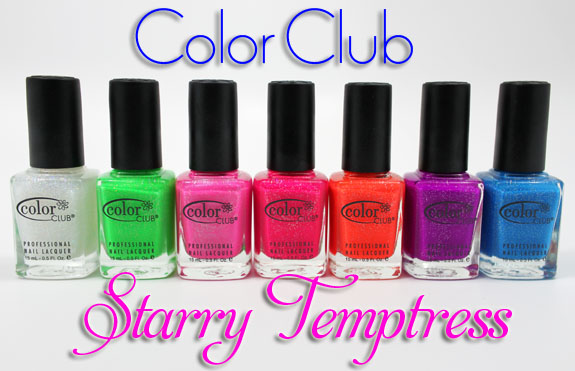 Esmaltes Color Club Coleccion Starry Temptress
