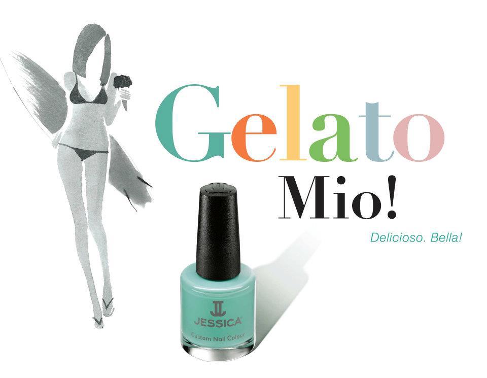 Esmaltes Jessica Colección Gelato Mio