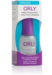 Top Coat Orly Won't Chip