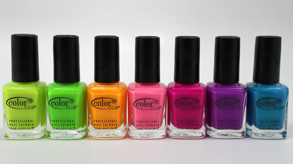 Esmaltes Color Club Colección Wicked Sweet