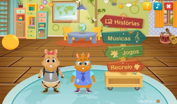 Bia e Kiko exploram o Mundo