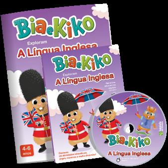 Bia e Kiko exploram a Língua Inglesa