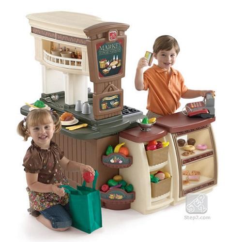 Cocina de juguete fresh market step2 for Cocina de juguete step 2