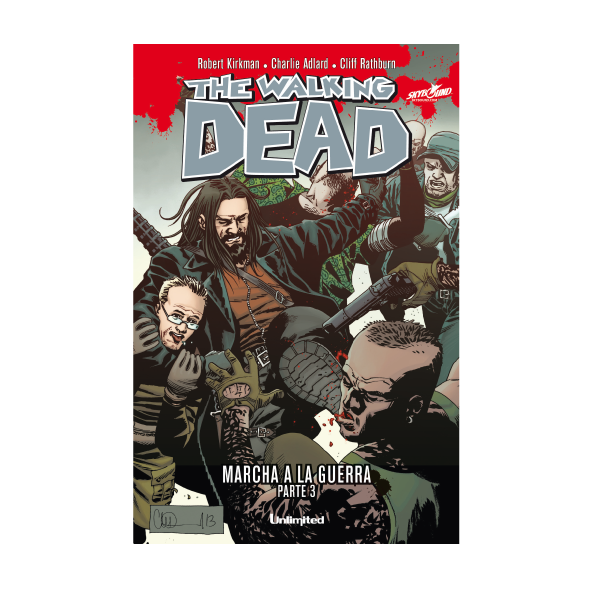 Cómic The Walking Dead - Marcha De La Guerra Parte 3 - Unlimited Editorial