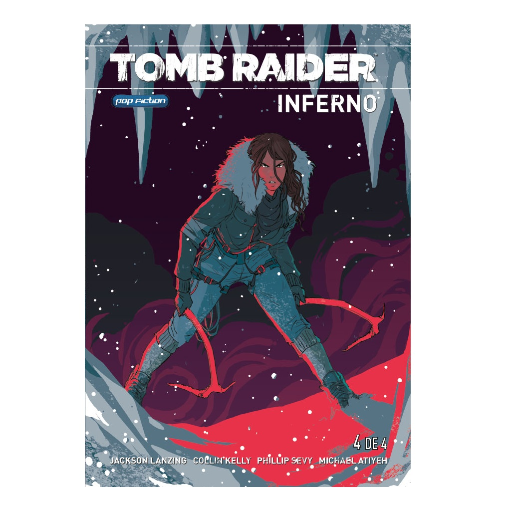 Pack Tomb Raider Infierno - 4 CÓMICS