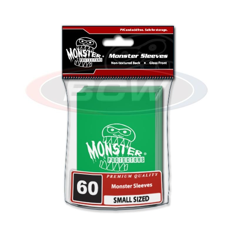 Protector MONSTER LOGO - SMALL Color Verde