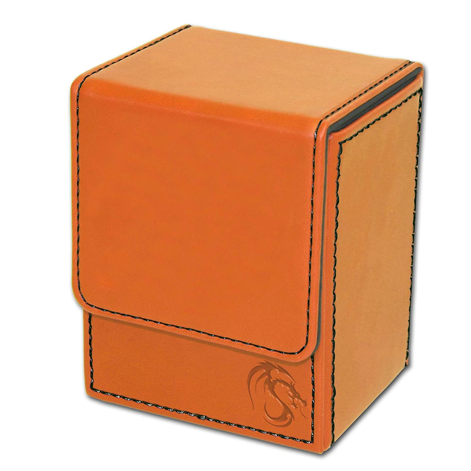 Portamazo Naranjo LX Deck Case Orange BCW
