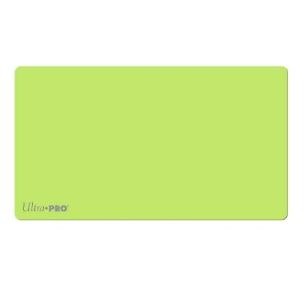 Ultra Pro Artists Gallery Playmat - Solid Lime Green