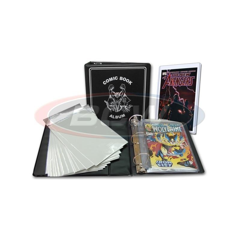 Archivador Coleccionador Cómics - Comic Book Collector Starter Kit BCW