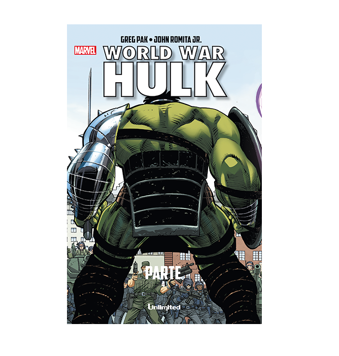 Cómic World War Hulk Parte 4 - Unlimited Editorial