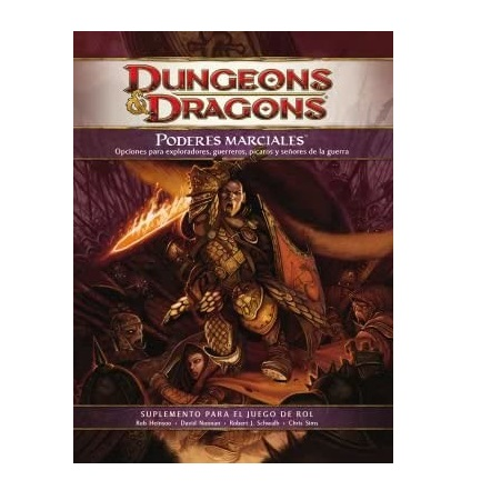 Dungeons & Dragons 4th Poderes Marciales