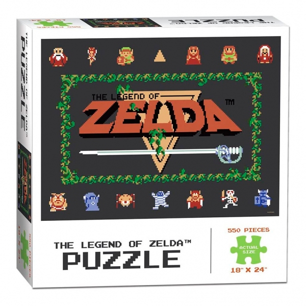 The Legend of Zelda 550 Piezas Puzzles - Rompecabezas
