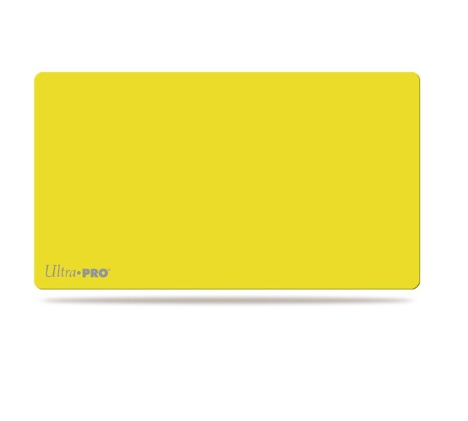 Ultra Pro Artists Gallery Playmat - Solid Yellow