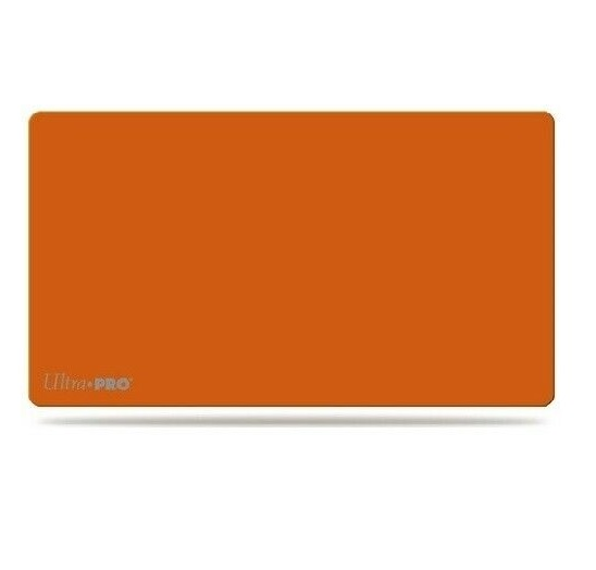 Ultra Pro Artists Gallery Playmat - Solid Orange