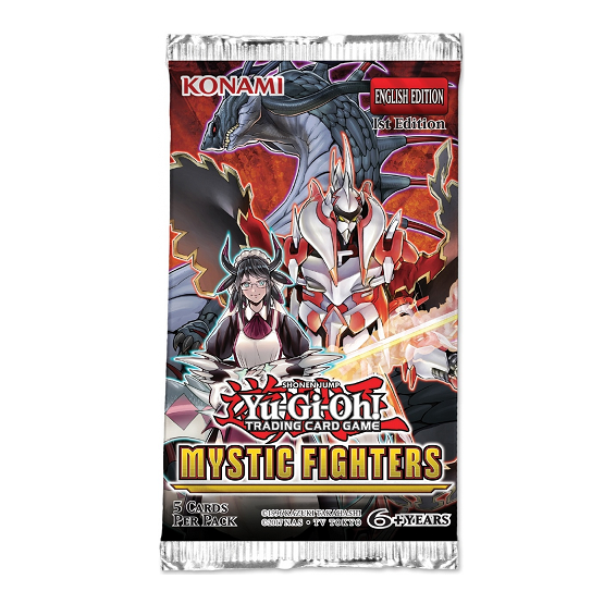 Sobres Mystic Fighters Yugioh