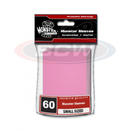 Protector MONSTER GLOSSY - SMALL Color Rosado