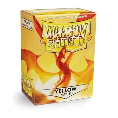 Dragon Shield STANDARD Matte Yellow