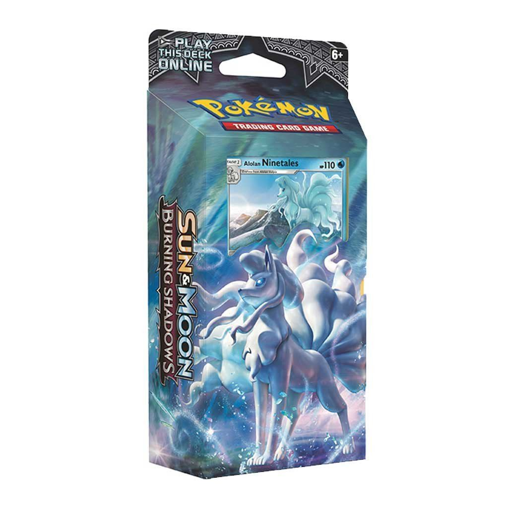 Baraja Burning Shadows Luminous Frost Pokemon