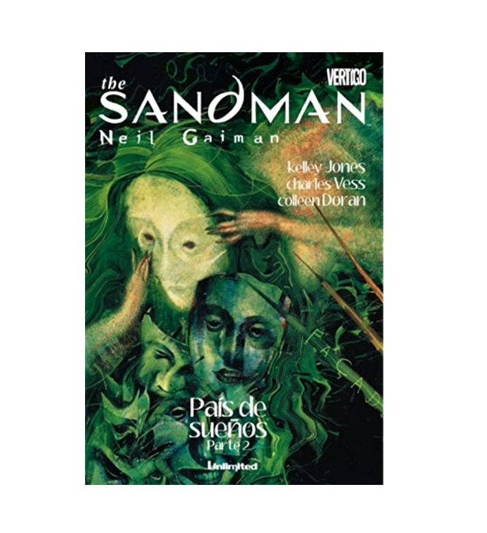 Cómic The Sandman País de sueños Parte 2 - Unlimited Editorial