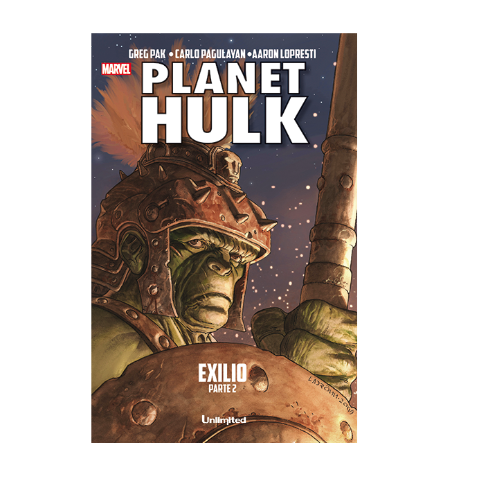 Cómic Planet Hulk Exilio Parte 2 - Unlimited Editorial