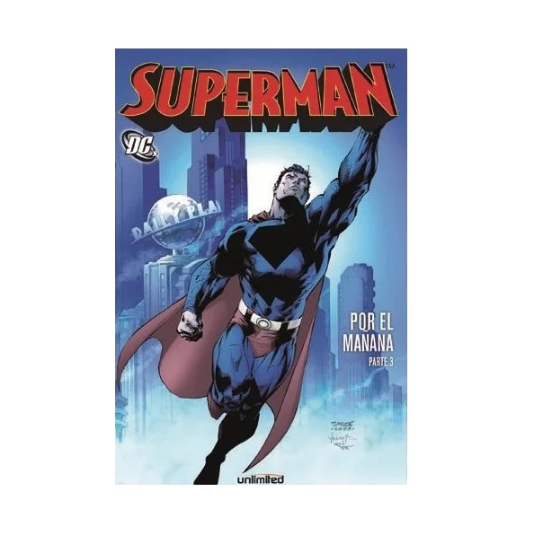 Cómic Superman Por la mañana Parte 3 - Unlimited Editorial
