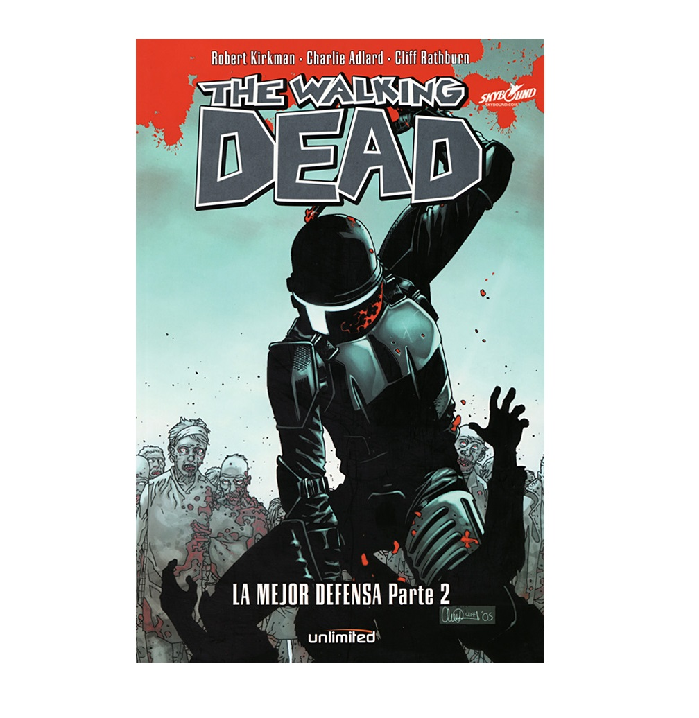 Cómic The Walking Dead - La mejor defensa Parte 2 - Unlimited Editorial