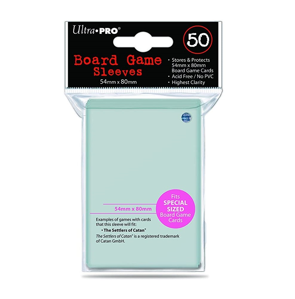 Protectores Ultra Pro 54 mm x 80 mm Fit Special Sized