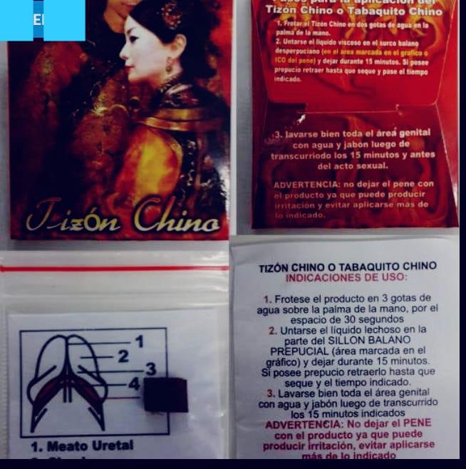 TIZON CHINO - PIEDRA JAMAIQUINA