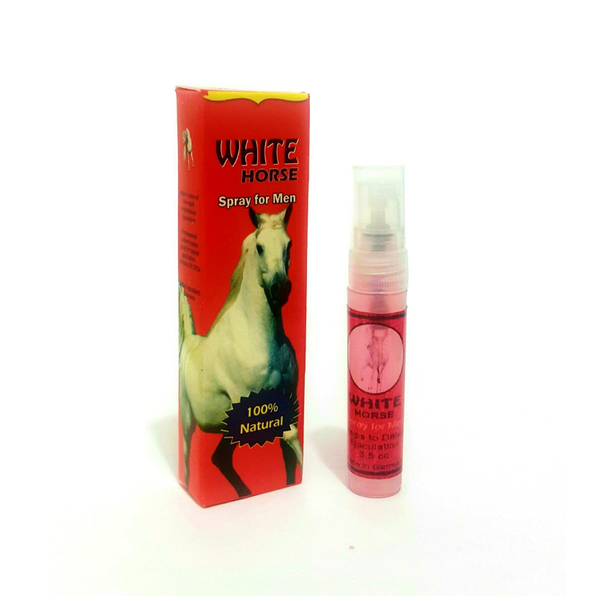 CABALLO BLANCO WHITE HORSE