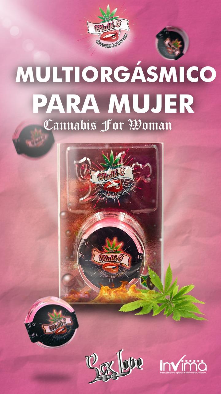 MULTIORGAMS CANABIS FOR WOMEN 05GR