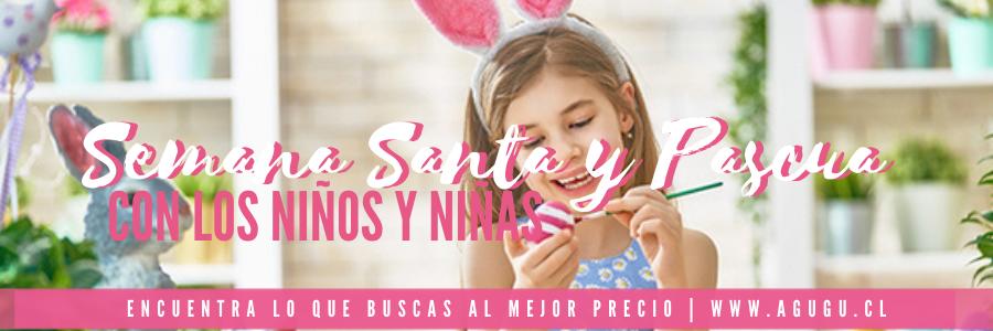Semana Santa y Pascua con los niños y niñas