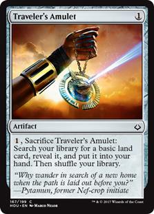 Traveler's Amulet - HOU - C